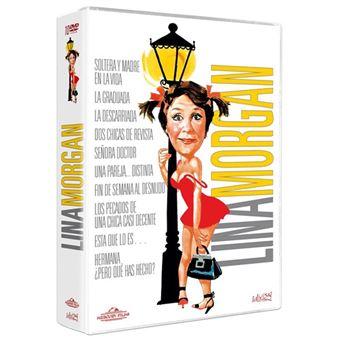 Pack Lina Morgan - 10 Películas - DVD