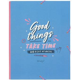 Mr Wonderful Carpeta separadora – Good things take time (and a lot of notes)