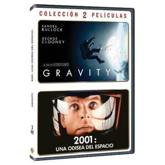Pack: Gravity + 2001: Una odisea del espacio - DVD