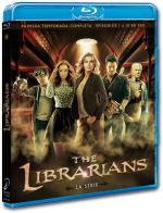 The Librarians  Temporada 1 Episodios 1 A 10 - Blu-Ray
