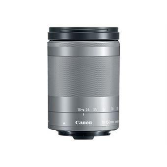 Objetivo Canon EF-M 18 - 150 mm IS STM plata