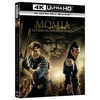 La momia: la tumba del emperador dragón - UHD + Blu-Ray