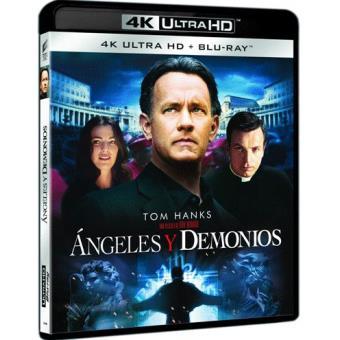 Ángeles y demonios - UHD + Blu-Ray