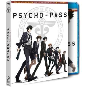 Psycho Pass Temporada 1 Parte 1 - Blu-Ray