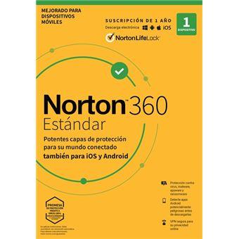 Norton 360 Estándar 1 dispositivo 1 año