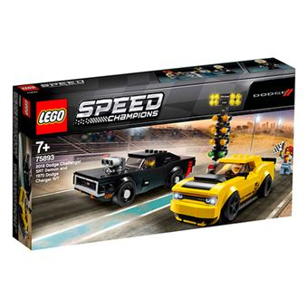 LEGO Speed Champions Dodge Challenger SRT Demon de 2018 y Dodge Charger R/T de 1970