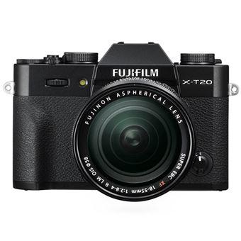 Cámara EVIL Fujifilm X-T20 + 18-55 mm f2.8-4 Negro