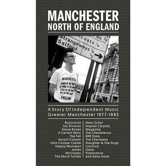 Manchester North of England - A Story of Independent Music Greater Manchester 1977-1993 - 7 CD
