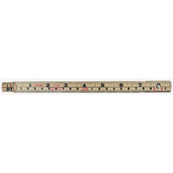 Metro de madera plegable Legami Mr. Size Folding Ruler 200 cm