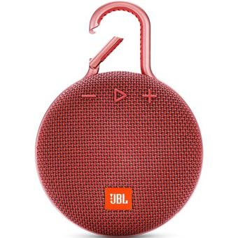 Altavoz Bluetooth JBL Clip 3 Rojo