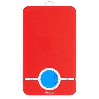 Báscula digital de cocina Brabantia 480744 Rojo