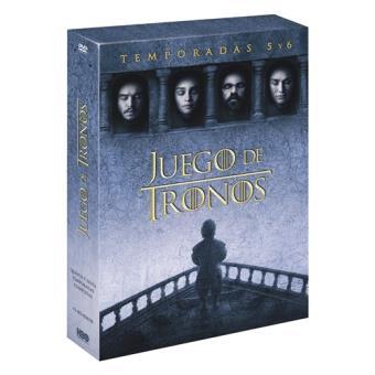 Juego de tronos - Temporadas 5 y 6 - DVD