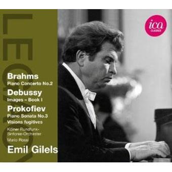 Emil Gilels Plays Brahms, Debussy & Prokofiev