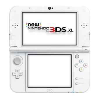 Consola New Nintendo 3DS XL Blanco Perla