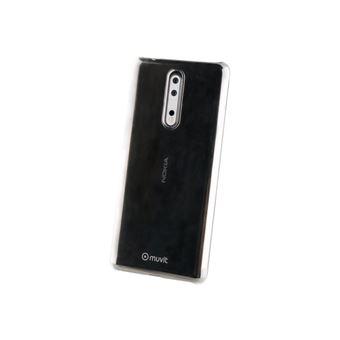 Carcasa Muvit transparente para Nokia 8