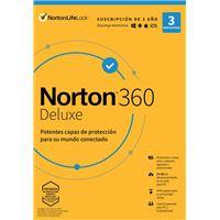 Norton 360 Deluxe 3 dispositivos 1 año