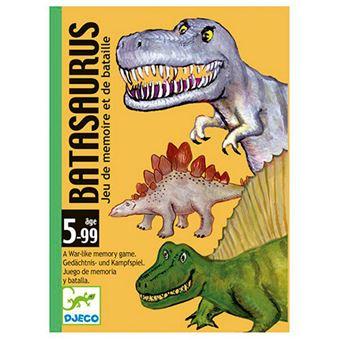 Juego de cartas Batasaurus Djeco