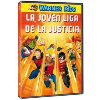 La joven liga de la justicia - Temporada 1 - 3ª Parte - DVD