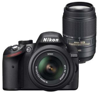 Nikon D3200 + 18-55 + 55-200 Cámara Réflex