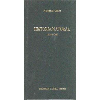 Historia natural libros VII-XI