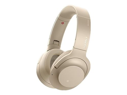 Auriculares Noise Cancelling Sony WH-H900NB Dorado