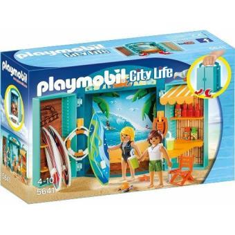 Playmobil Cofre tienda surf