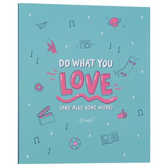 Mr Wonderful Carpeta archivadora – Do what you love (and also some work)