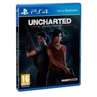 Uncharted El Legado Perdido Ps4 Para Los Mejores Videojuegos Fnac
