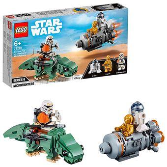 LEGO Star Wars Microfighters: Cápsula de escape Vs Dewback