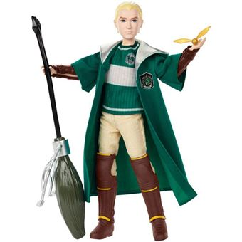 Figura Draco Malfoy Quidditch Harry Potter Mattel