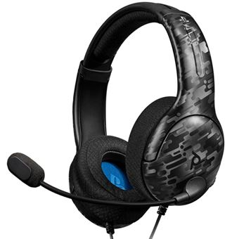 Auriculares con cable LVL40 Negro camuflaje para PS4