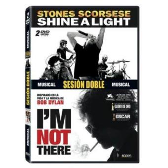 Pack I' m Not There + Shine A Light (V.O.S.) - DVD