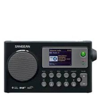 Radio Sangean WFR-27C negra
