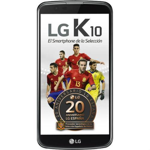 """LG K10 5,3"""" 4G negro"""