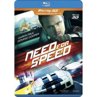 Need For Speed - Blue-Ray 3D