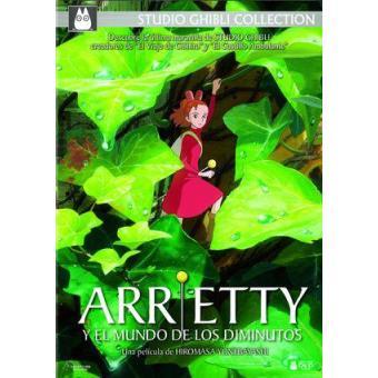 Arrietty y el mundo de los diminutos - DVD