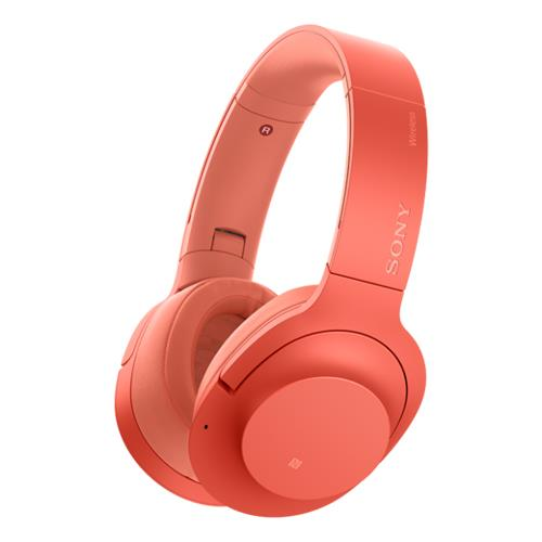 Auriculares Noise Cancelling Sony WH-H900NB Rojo