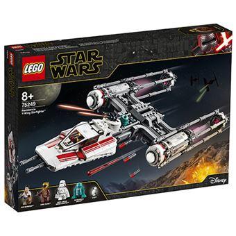 LEGO Star Wars TM 75249 Caza Estelar Ala-Y de la Resistencia