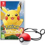 Pokémon Let's Go Pikachu! y Poké Ball Plus Nintendo Switch