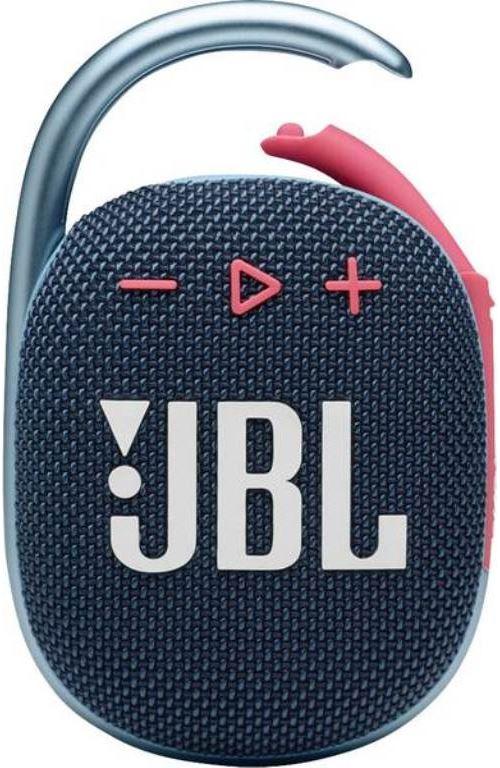 Altavoz Bluetooth JBL Clip 4 Azul/Rosa