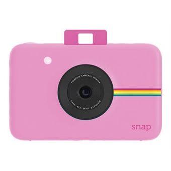 Cámara instantánea Polaroid Snap Rosa Kit