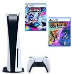 Consola PS5 + Ratchet & Clank + Destruction AllStars