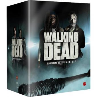 The Walking Dead - Temporadas 1-7 - DVD