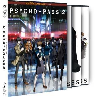 Psycho Pass - Temporada 2 - DVD