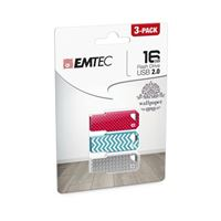 Pendrive Memoria USB 2.0 Emtec M750 16GB Pack
