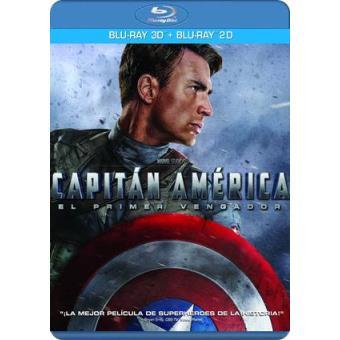 Capitán América: El primer vengador - Blu-Ray + 3D