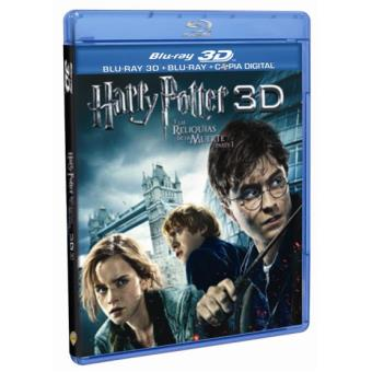 Harry PotterHarry Potter y las reliquias de la muerte - Parte 1 - Blu-Ray + 3D