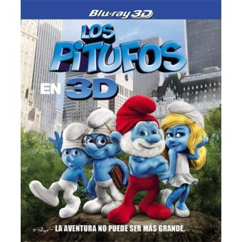 Los Pitufos - Blu-Ray + 3D + 2D + DVD