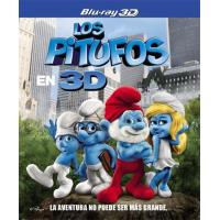 Los Pitufos - Blu-Ray + 3D + 2D + DVD
