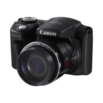 Canon PowerShot SX500 IS Kit(Funda + Tarjeta SD 8GB) Cámara Compacta Avanzada Digital